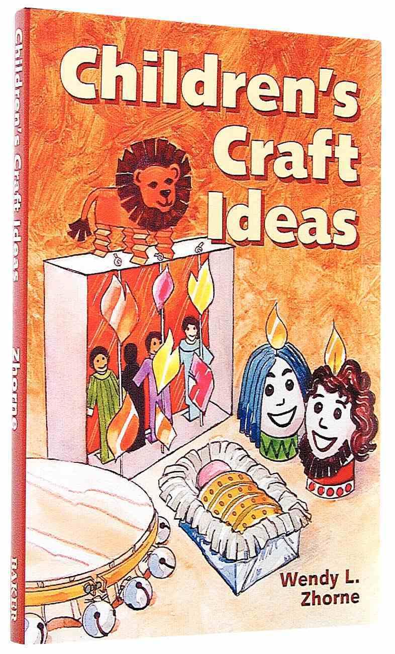 Childrens Craft Ideas Paperback