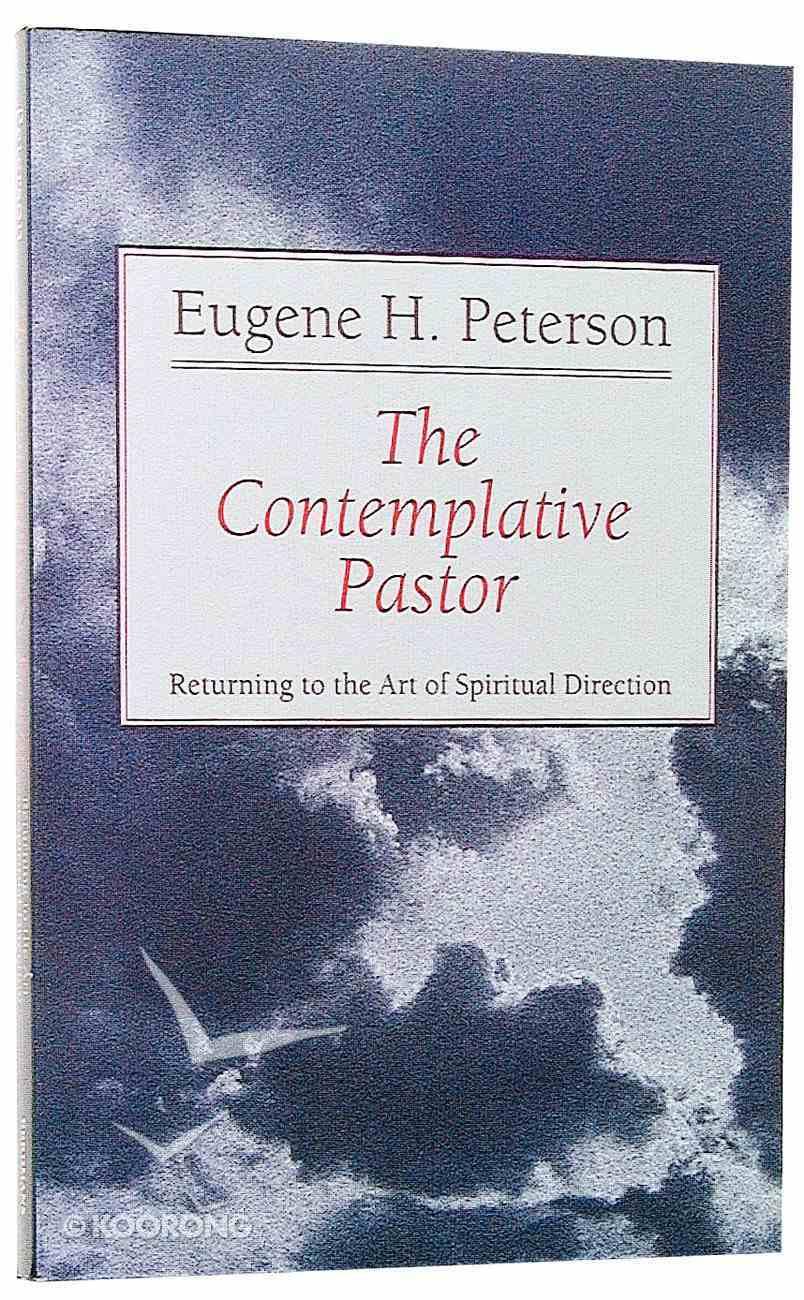 The Contemplative Pastor Paperback