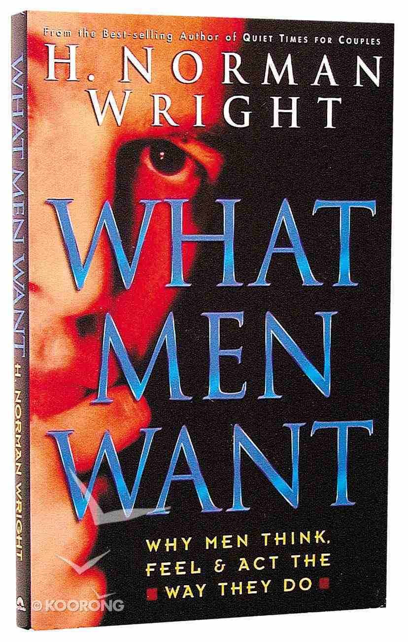What Men Want Paperback