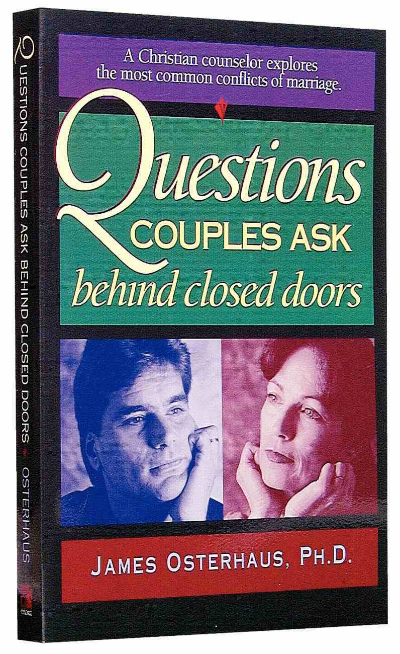 Questions Couples Ask Behind Closed Doors Paperback