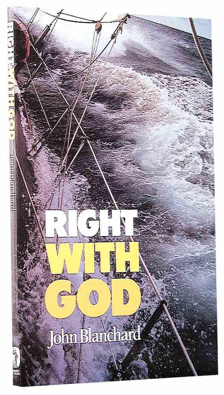 Right With God Paperback