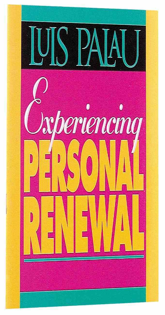 Experiencing Personal Renewal Paperback