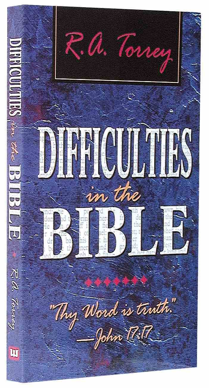 Difficulties in the Bible Mass Market