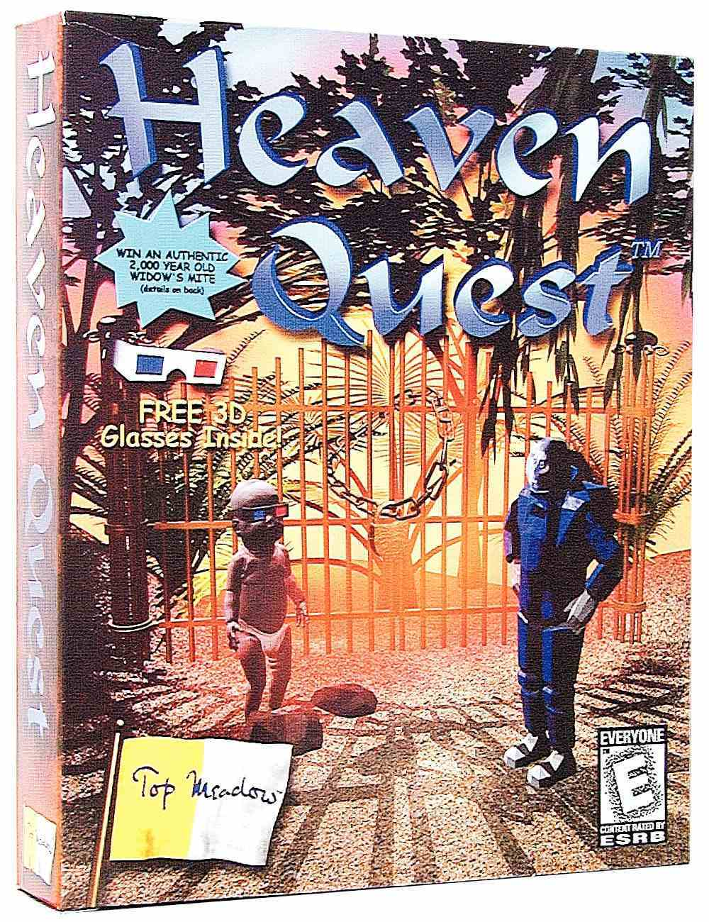 Heaven Quest Win95 CDROM Game CD-rom