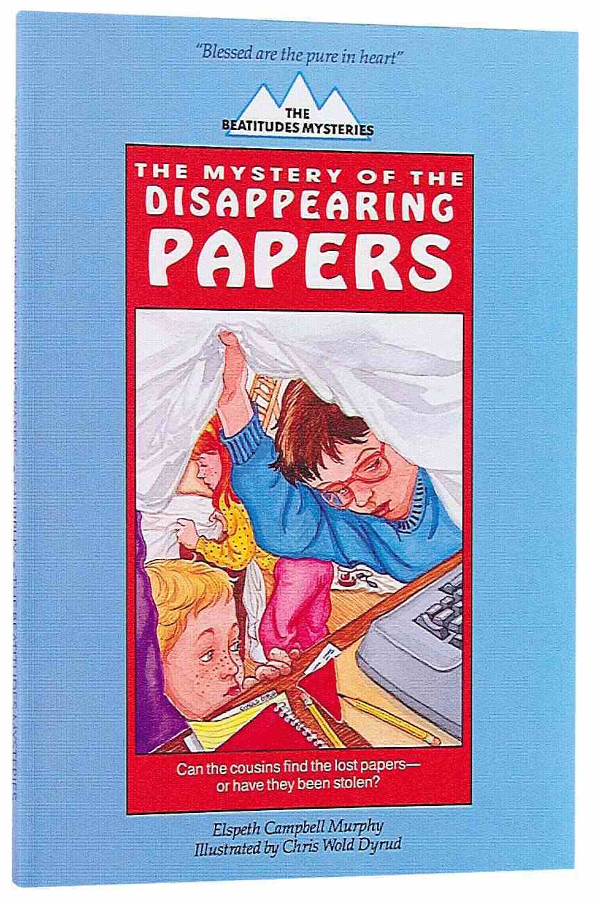 Mystery of the Disappearing Papers Paperback