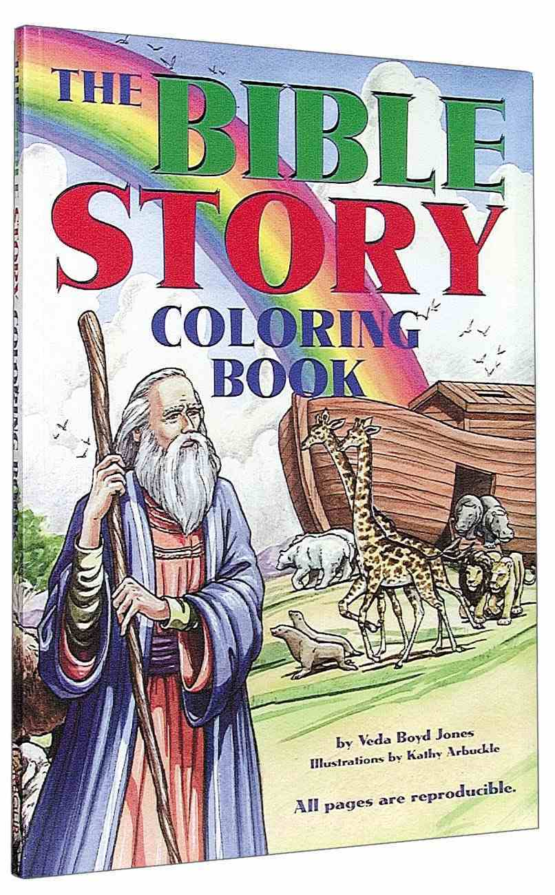 Bible Story Coloring Book Paperback