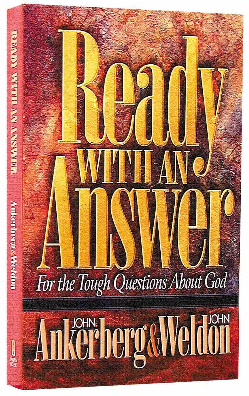 Ready With An Answer Paperback