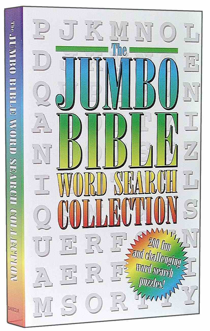 Jumbo Bible Word Search Collection Paperback