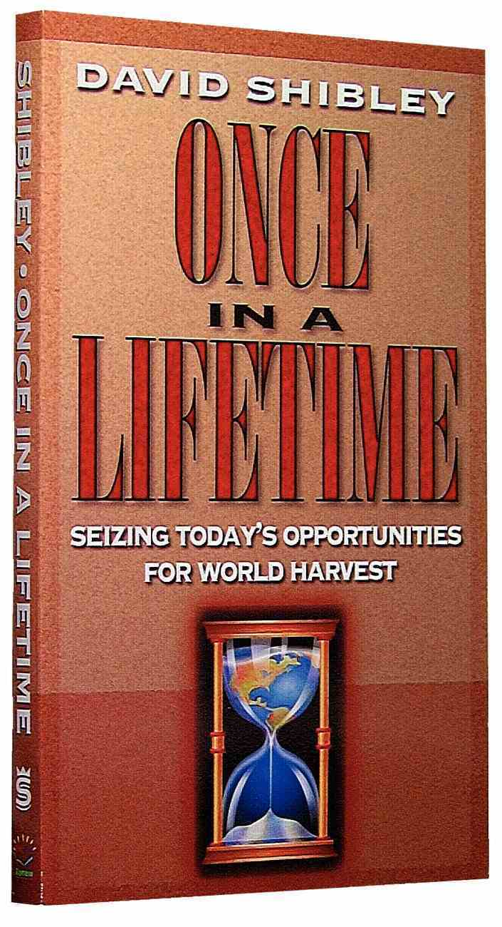 Once in a Lifetime Paperback