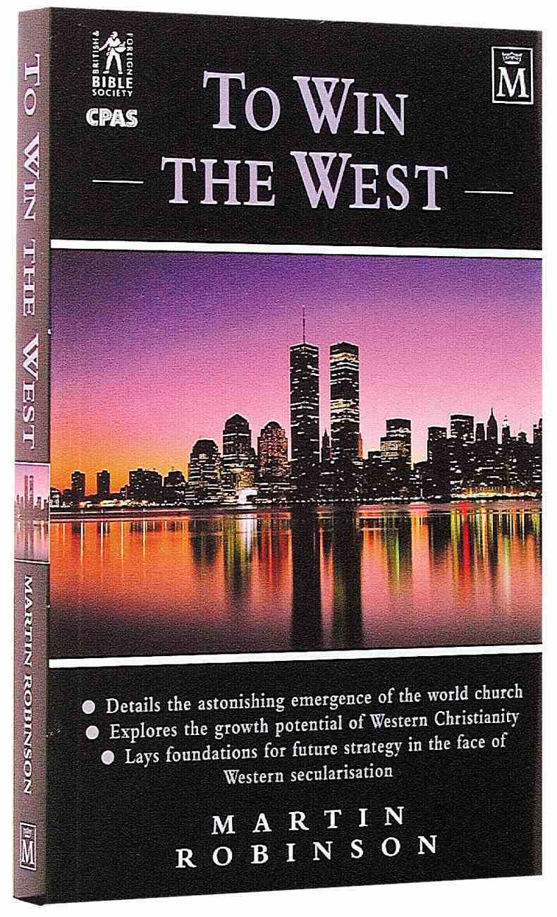 To Win the West Paperback