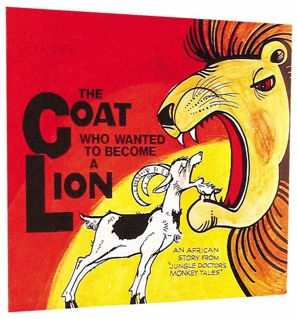 The Goat Who Wanted to Become a Lion (Jungle Dr Comic Series) Paperback