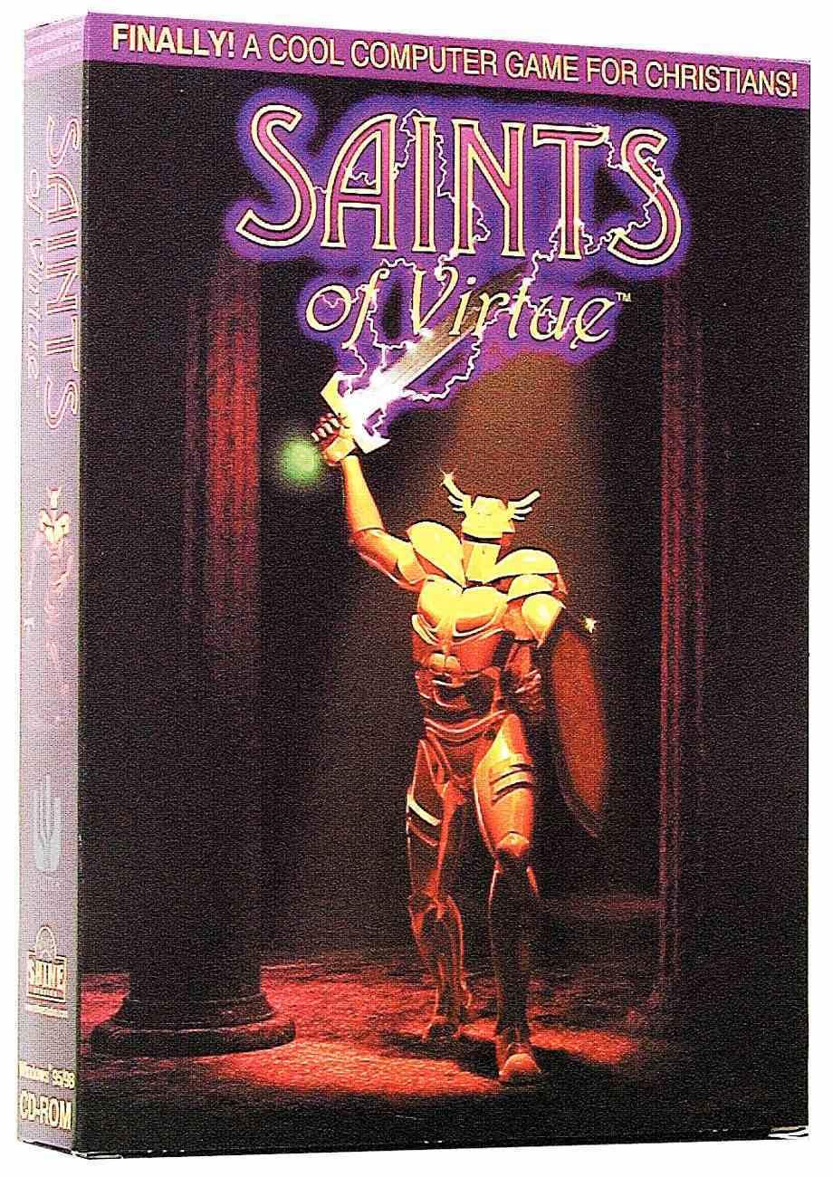 Saints of Virtue CDROM 3d Multimedia Win95/98 CDROM CD-rom