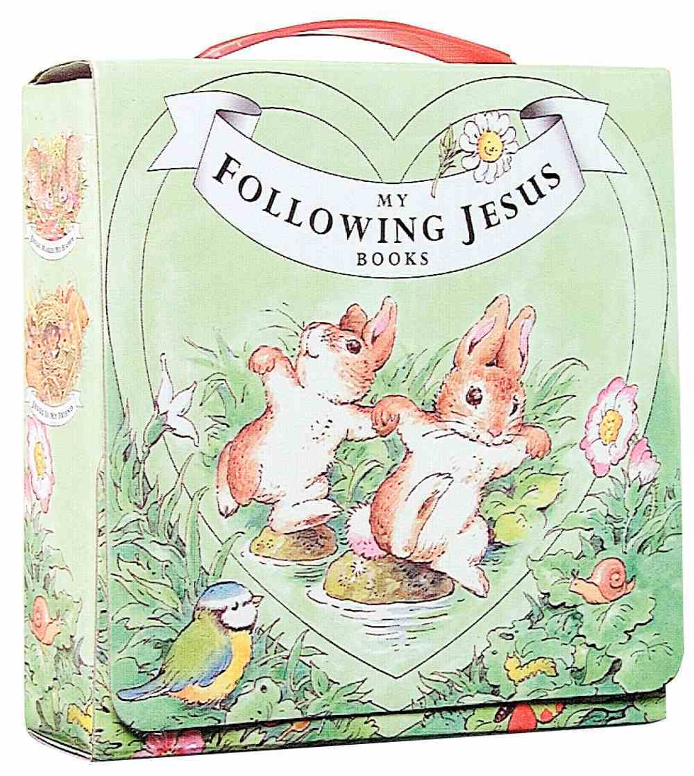Following Jesus: 4 Books With Carry Case Board Book