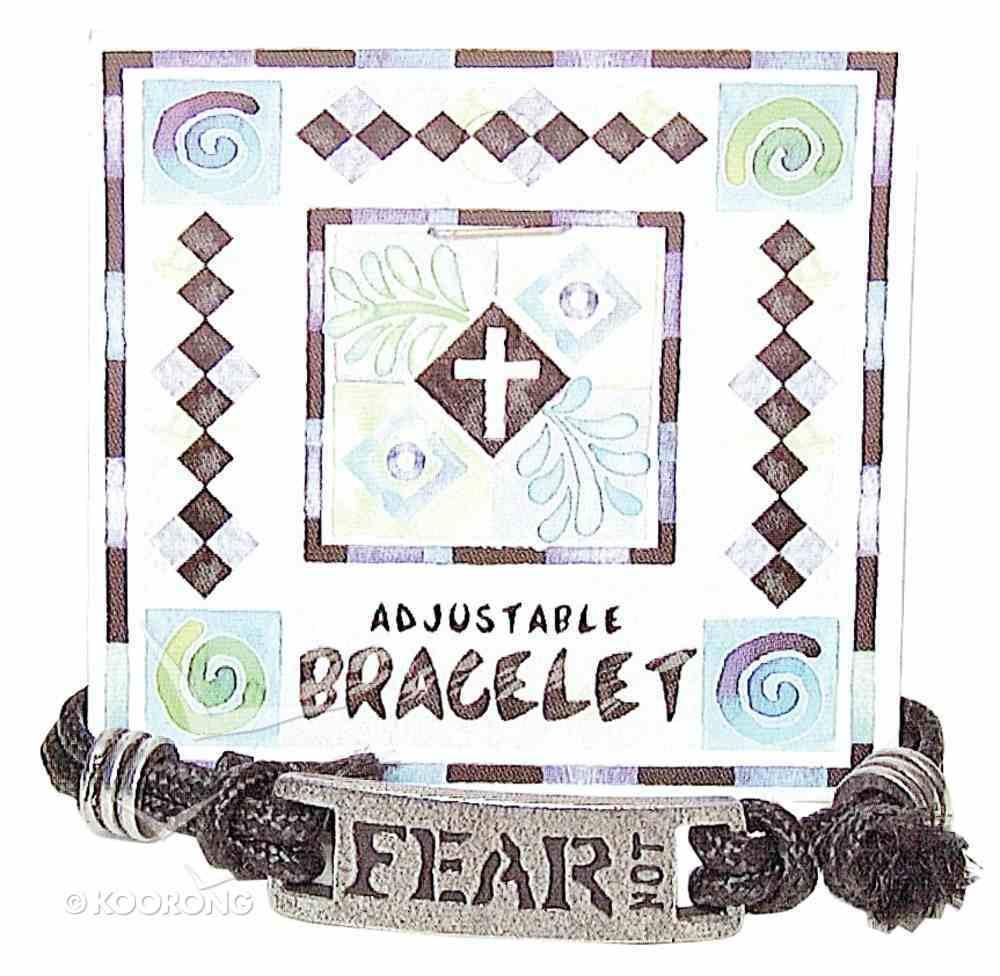 Cord Bracelet: Fear Not Jewellery